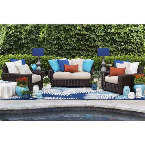 Image of Carlsbad Outdoor Pouf - Cece & Me - Home and Gifts