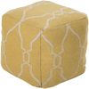 Fallon Pouf ~ Bright Yellow - Cece & Me - Home and Gifts