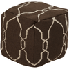 Fallon Pouf ~ Dark Brown