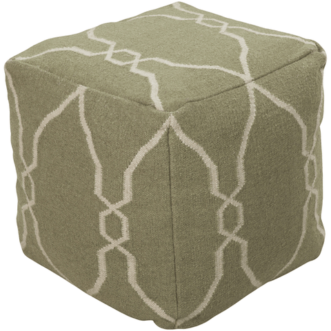 Image of Fallon Pouf ~ Sage - Cece & Me - Home and Gifts