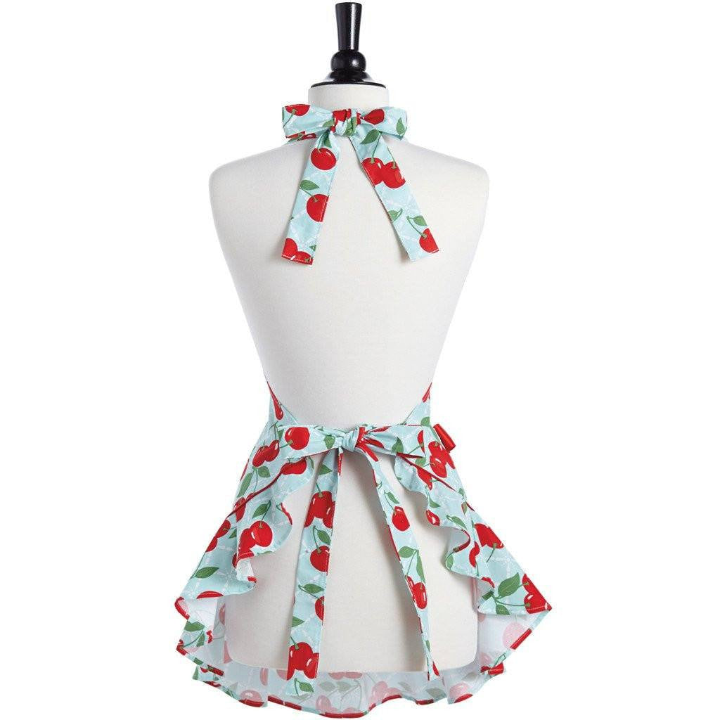 Fancy Cherry Apron ~ Childs - Cece & Me - Home and Gifts
