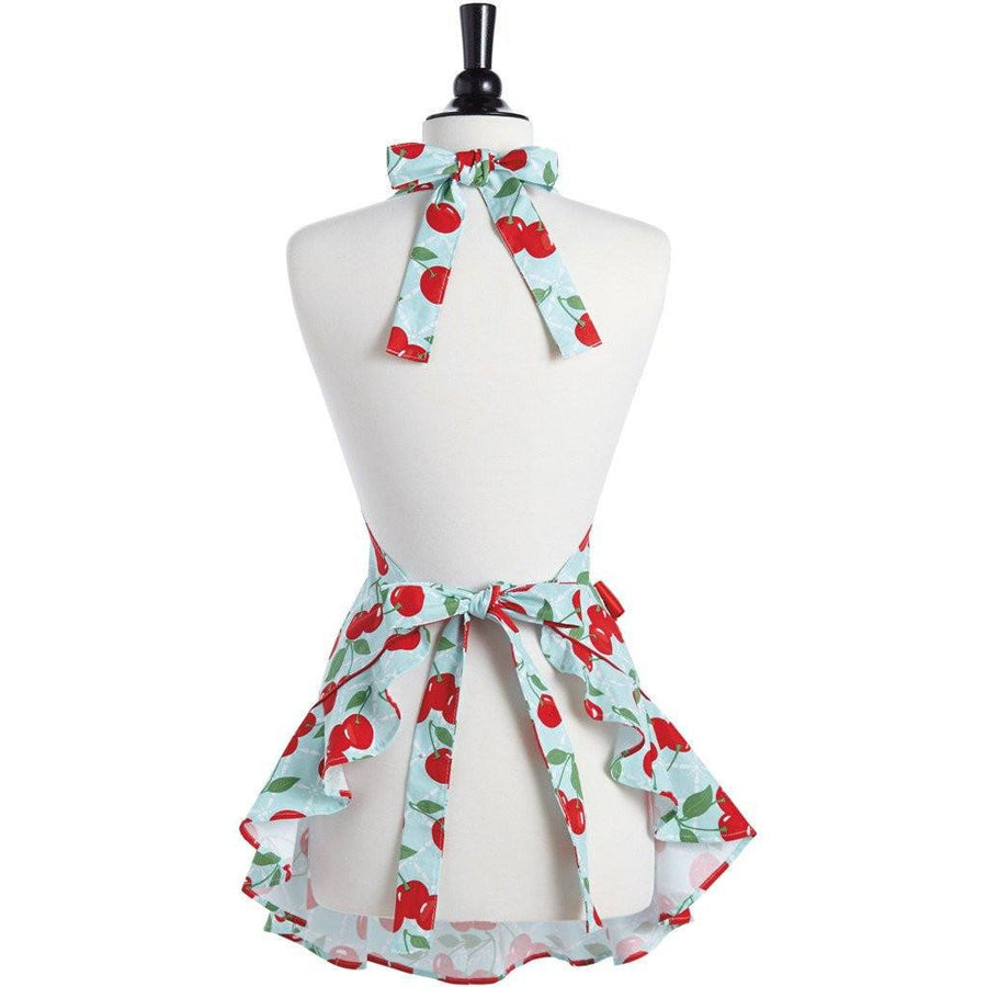 Fancy Cherry Apron ~ Mommy & Me - Cece & Me - Home and Gifts