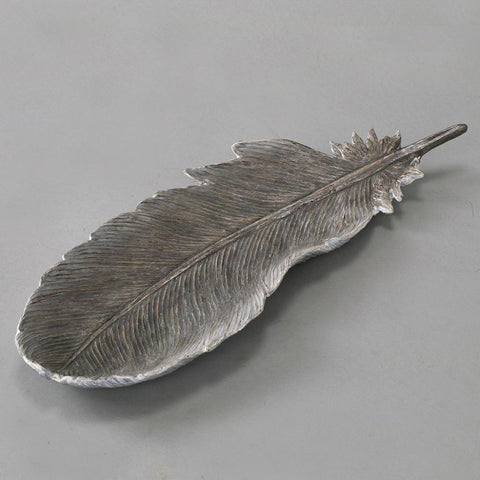 Image of Feather Accessory Tray Large - Cece & Me - Home and Gifts