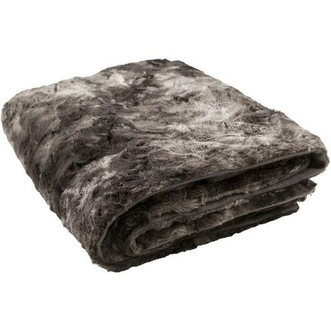 Image of Felina Throw ~ Medium Gray/Black - Cece & Me - Home and Gifts