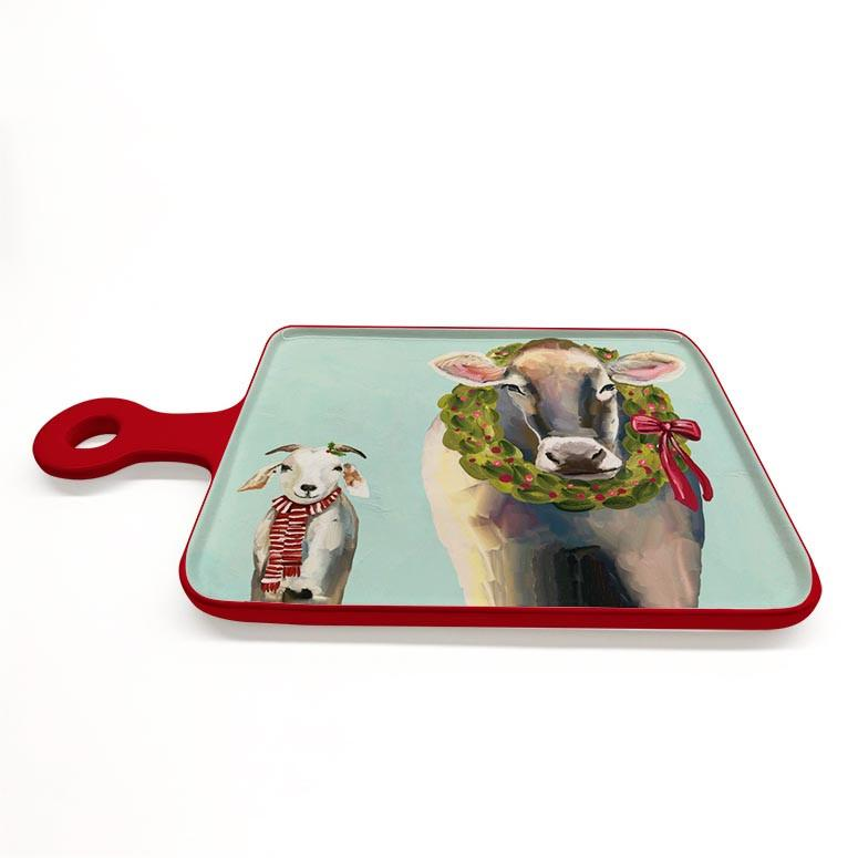 Festive Cow Cheese Board ~ Holiday Collection
