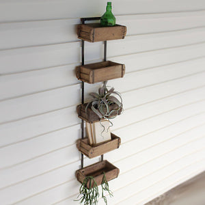 Five Brick Mold Wall Rack - Cece & Me - Home and Gifts