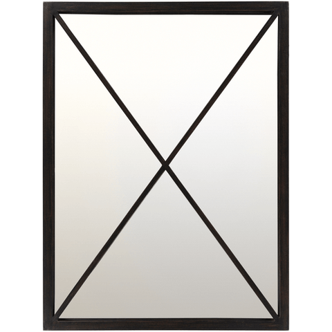 Franklin Mirror ~ Black - Cece & Me - Home and Gifts