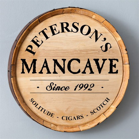 Image of Whiskey Barrel Sign - Cece & Me - Home and Gifts