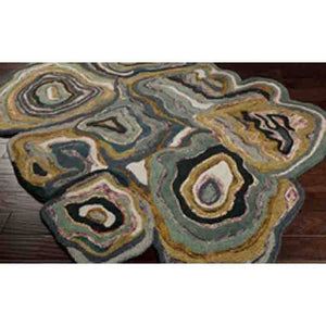Gypsy Rug ~ Blue/Olive - Cece & Me - Home and Gifts