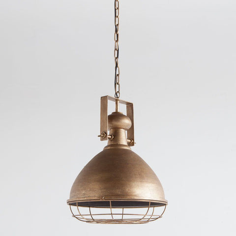 Gaffert Pendant Lights ~ Gold - Cece & Me - Home and Gifts