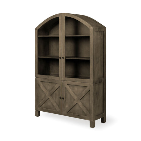 Image of Gaines Cabinet ~ Brown - Cece & Me - Home and Gifts