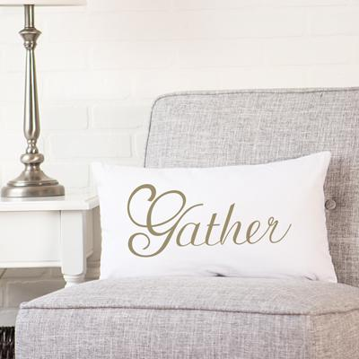 Gather Lumbar Pillow - Cece & Me - Home and Gifts