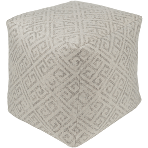 Geonna Pouf ~ Taupe - Cece & Me - Home and Gifts