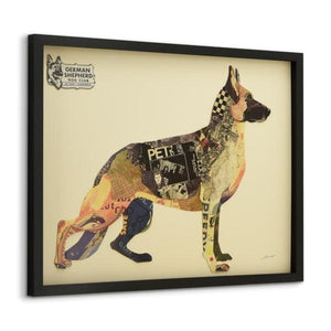 German Shepherd ~ Art Collage - Cece & Me - Home and Gifts