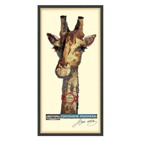 Image of Giraffe ~ Art Collage - Cece & Me - Home and Gifts