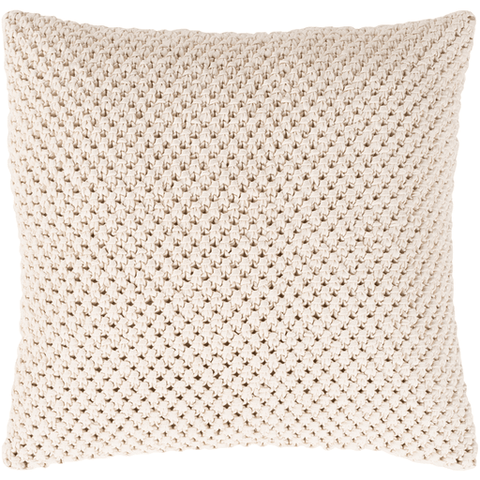 Image of Godavari Pillow ~ Cream - Cece & Me - Home and Gifts