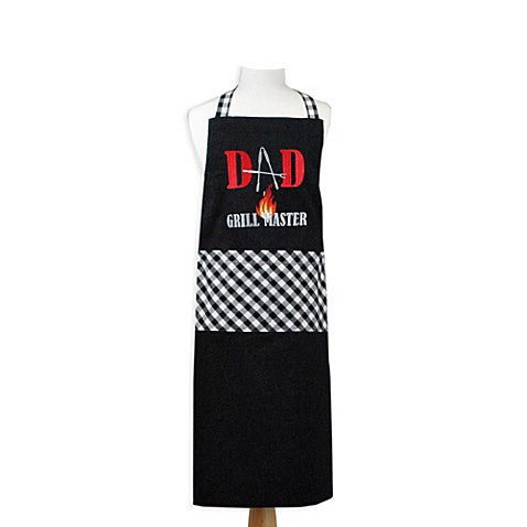 Dad's Grill Master Apron - Cece & Me - Home and Gifts
