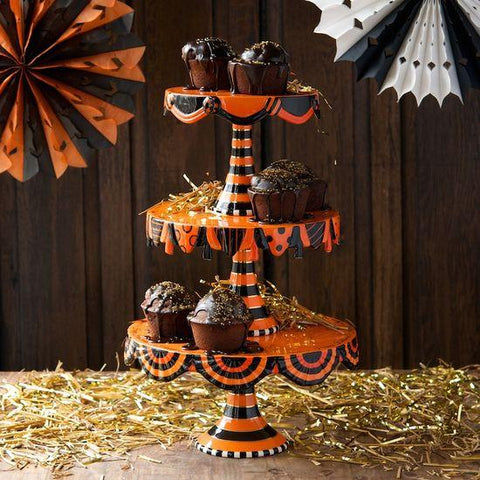 Halloween Stacking Cake Plate - Cece & Me - Home and Gifts