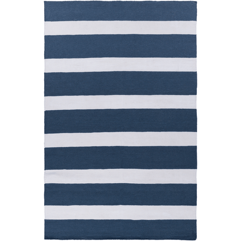 Image of Halsy Rug ~ Navy & Cream - Cece & Me - Home and Gifts