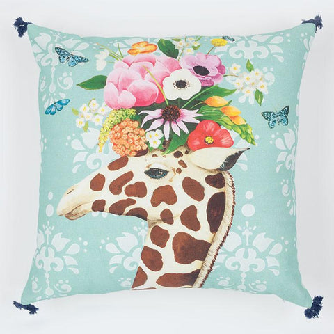 Image of Haute House Giraffe Pillow - Cece & Me - Home and Gifts
