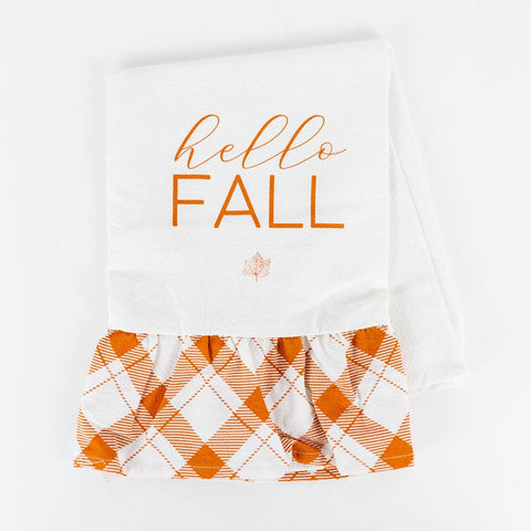 Hello Fall Dishtowel - Cece & Me - Home and Gifts