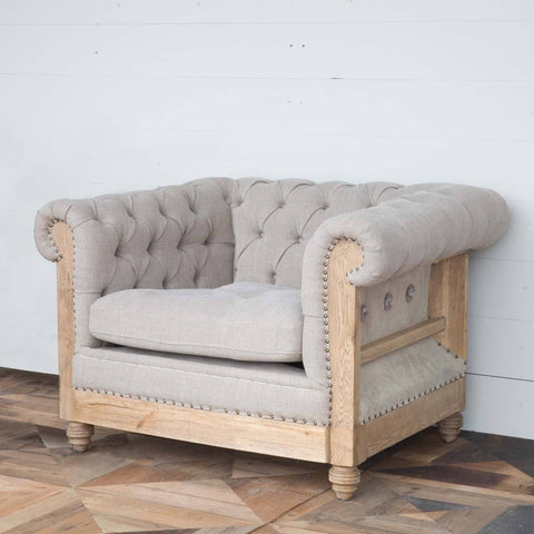 Hillcrest Tufted Chair - Cece & Me - Home and Gifts
