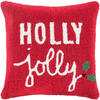 Holiday Holly Jolly Pillow - Cece & Me - Home and Gifts