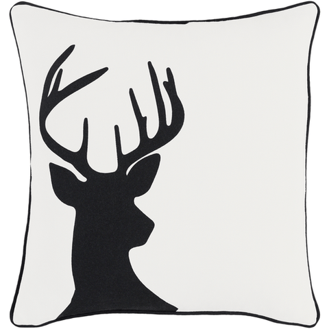 Holiday Pillow ~ Black - Cece & Me - Home and Gifts