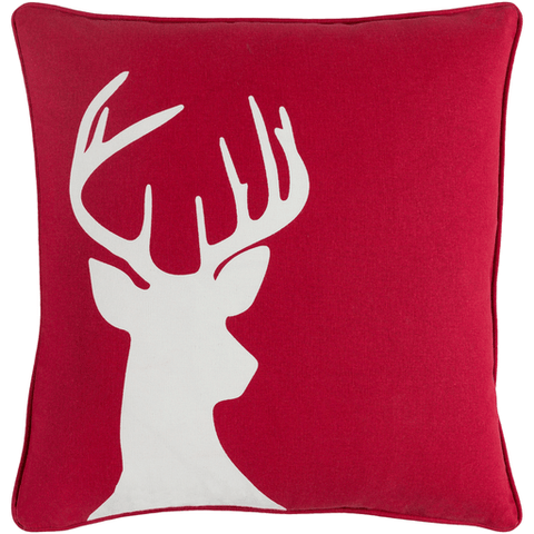 Holiday Pillow ~ Bright Red - Cece & Me - Home and Gifts