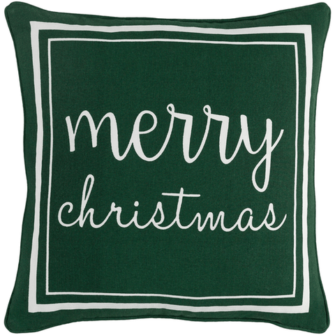 Holiday Pillow II ~ Dark Green - Cece & Me - Home and Gifts