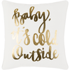 Holiday Pillow III ~ Gold - Cece & Me - Home and Gifts