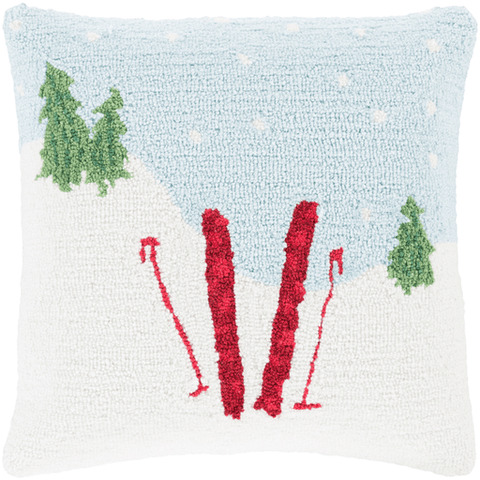 Holiday Ski Pillow - Cece & Me - Home and Gifts