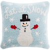 Holiday Snowman Pillow - Cece & Me - Home and Gifts
