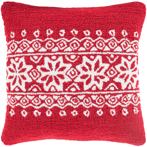 Holiday Winter Pillow ~ Red - Cece & Me - Home and Gifts