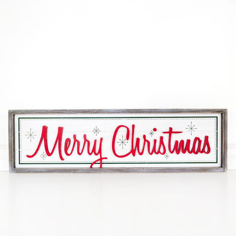 Holiday Wood Brick ~ Merry Christmas - Cece & Me - Home and Gifts