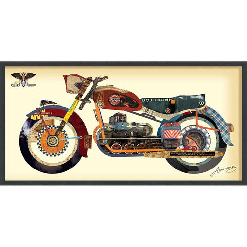 Image of Holy Harley ~ Art Collage - Cece & Me - Home and Gifts