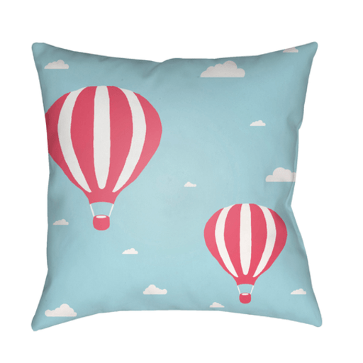 Hot Air Pillow ~ Blue/Pink