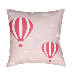 Hot Air Pillow ~ Pink - Cece & Me - Home and Gifts