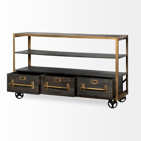 Image of Hudson II Rolling Shelving Unit - Cece & Me - Home and Gifts