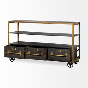 Hudson II Rolling Shelving Unit - Cece & Me - Home and Gifts