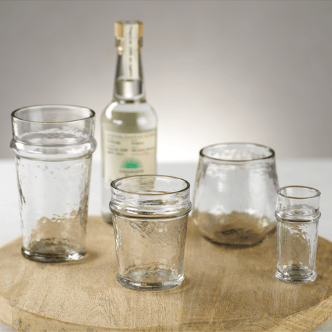 Artisan Hammered Double Old Fashioned Glass (Set of 12) - Cece & Me - Home and Gifts
