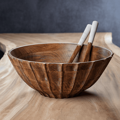 Heritage Mango Wood Bowl - Cece & Me - Home and Gifts
