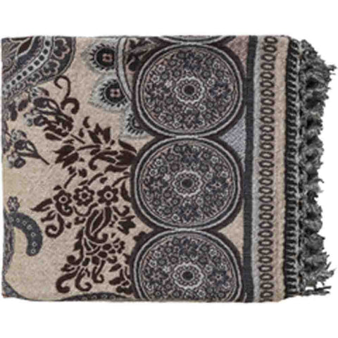 Image of Indira Throw~ Blue & Beige - Cece & Me - Home and Gifts