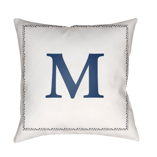 Initials Indoor/Outdoor Pillow