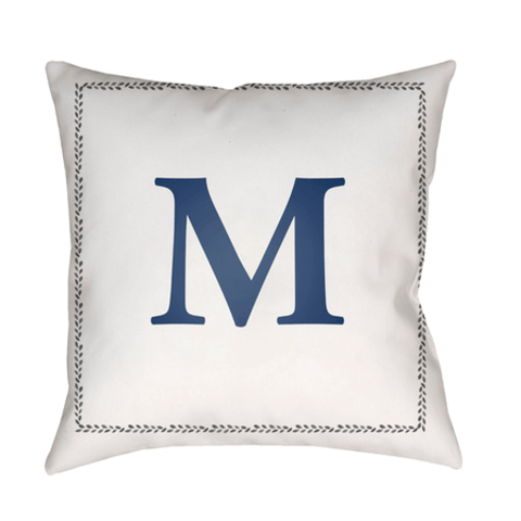 Image of Initials Indoor/Outdoor Pillow - Cece & Me - Home and Gifts