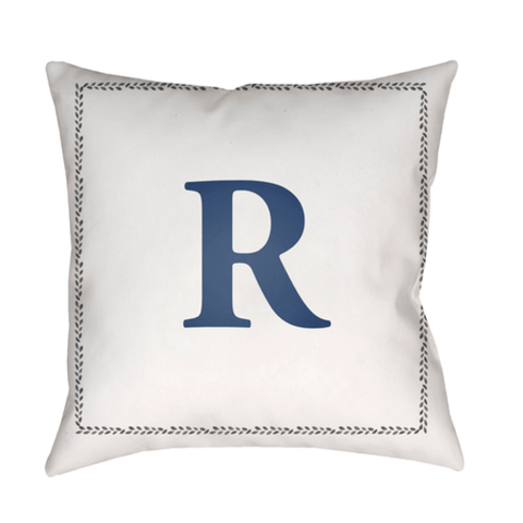 Initials Indoor/Outdoor Pillow - Cece & Me - Home and Gifts