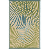 Interrupted Outdoor Rug ~ Sky Blue/Dark Green/Aqua - Cece & Me - Home and Gifts