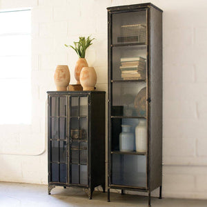 Iron and Glass Apothecary Buffet - Cece & Me - Home and Gifts