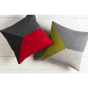 Jonah Pillow ~ Olive & Gray - Cece & Me - Home and Gifts