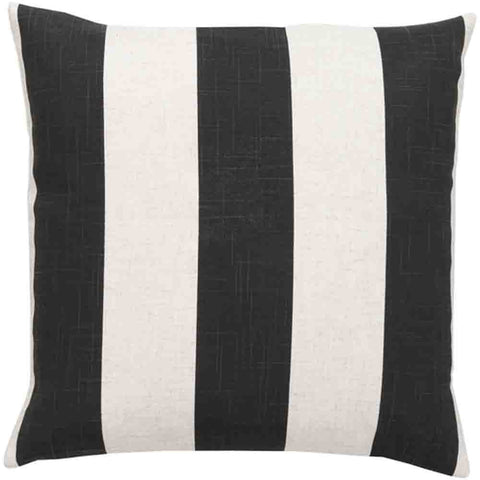 Simple Stripe Pillow ~ Black & White - Cece & Me - Home and Gifts